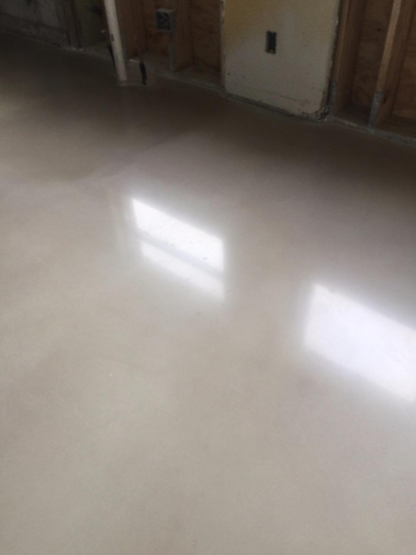 Polished Concrete Floor White
