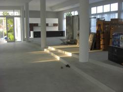 Flat Finish Polished Concrete