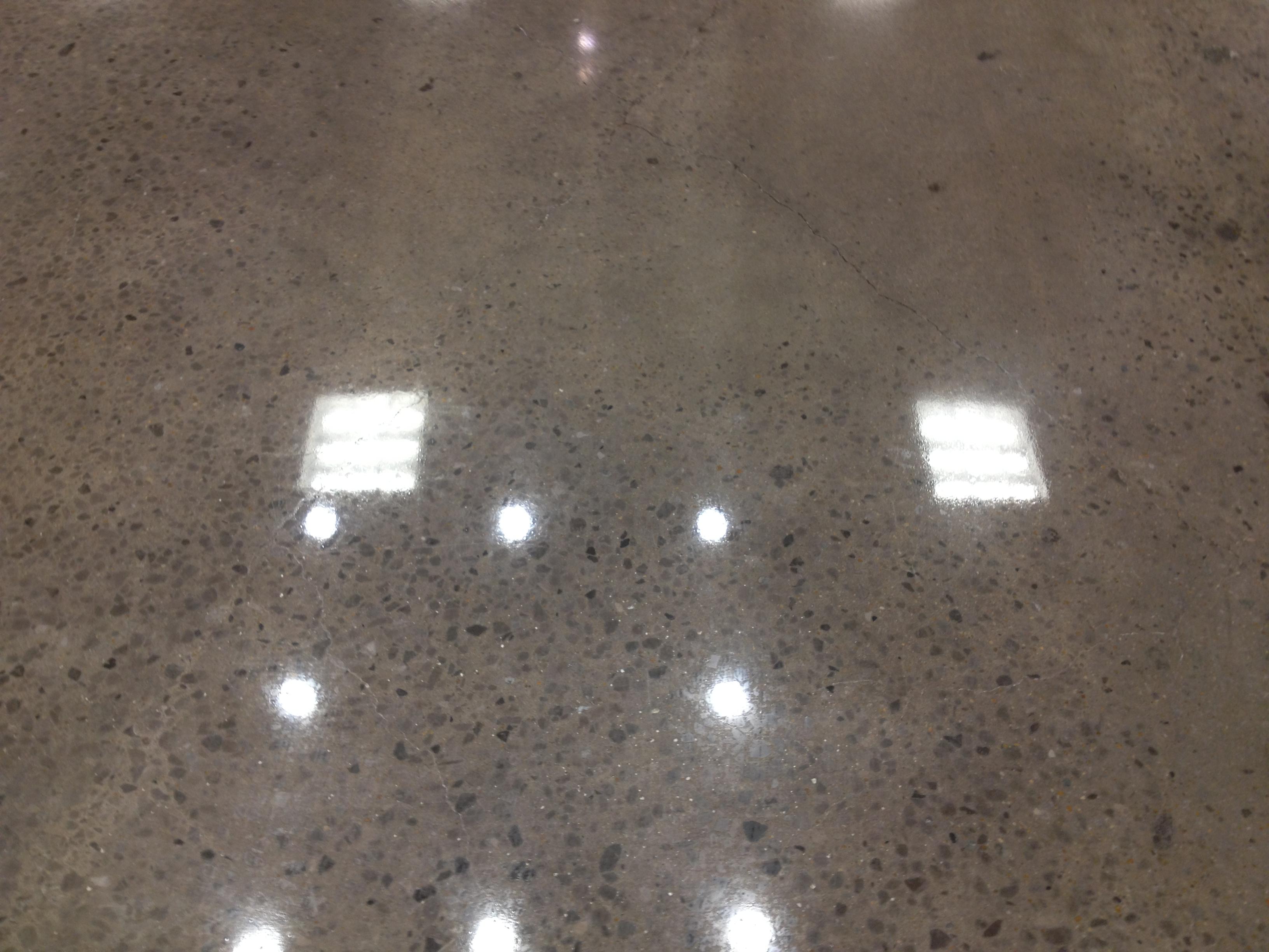High Shine Polished Concrete