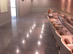 High Shine Polished Cocrete