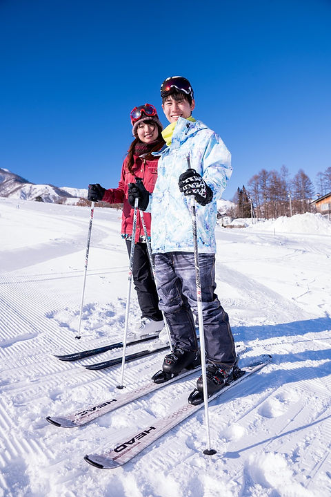 白馬 栂池高原 レンタル スキー スノーボード 団体