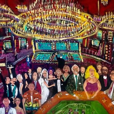 Nur Bey ve Ertuğrul Ağabey Casinoda