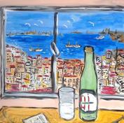 Evimin Penceresinden 1983 (60x50)