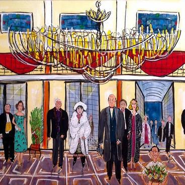Opera' da Eski Bir Gala Gecesi (100x70)