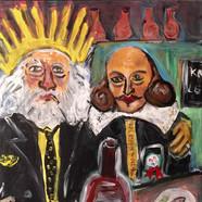 Prömiyer Sonrası Yazar ve Rol Kişisi Barda (50x60)