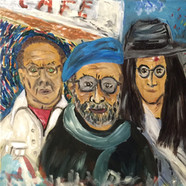 Vincent, John ve Bizim Tayfa (50x60)