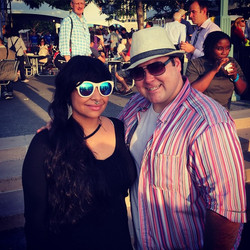 Happy Pride!!! Celebrating at the #GardenParty with _ravensymone ..