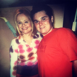 #tbt circa 2002 - hanging with Caroline Rhea after her first test show at 30 Rock