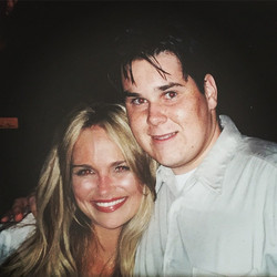 #tbt hanging with Kristin Chenoweth!!! See you at _thetonyawards on Sunday..
