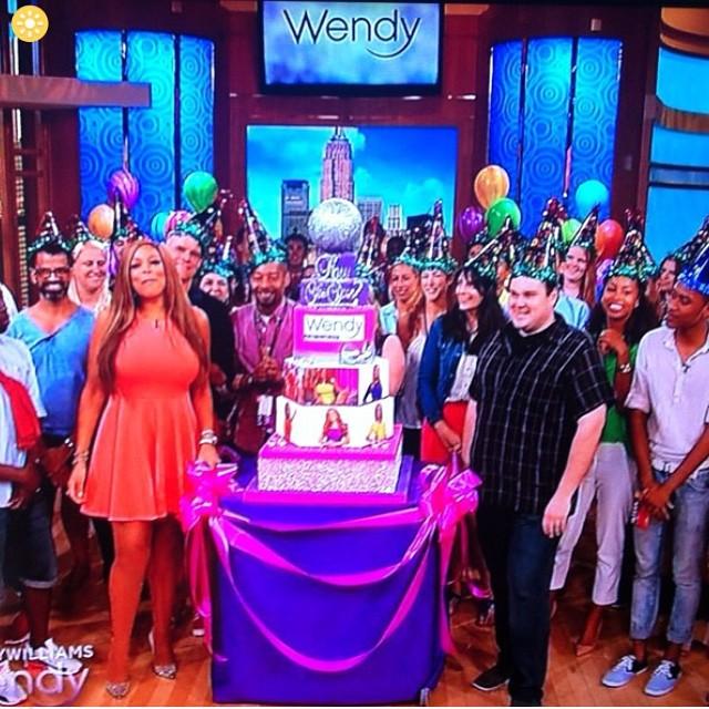 happy birthday Wendy Williams _wendyshow #flashbackfriday #fbf miss this staff xoxo