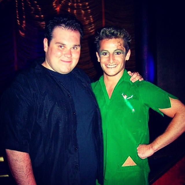 #tbt 2008 on the _rfamilyvacations #cruise with _frankiejgrande #peterpan #bigbrother