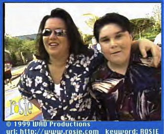 Colin Sheehan with Rosie O'Donnell