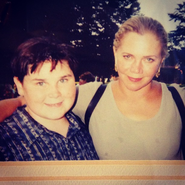 Throwback Thursday!!! 1999 when I played Kathleen Turner's sidekick in a #benefit in #hamptons #tbt