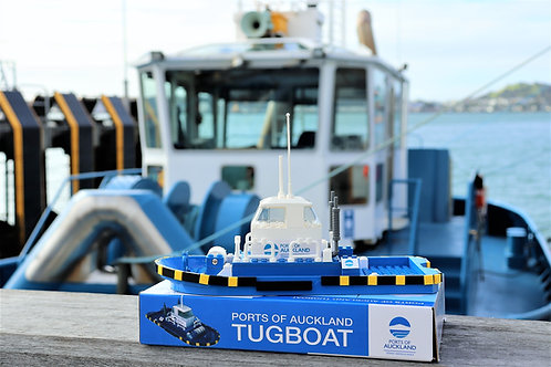 Ports of Auckland Toy Tugboat