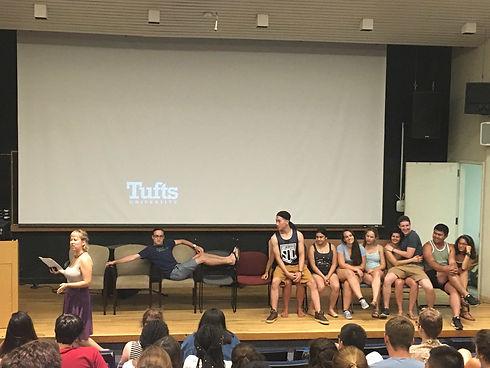 Mariko leading 10 chairs 3 (Tufts Focus