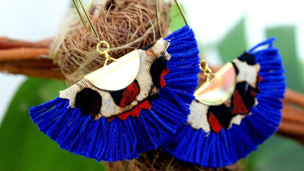 B.O Éventail coton et Batik