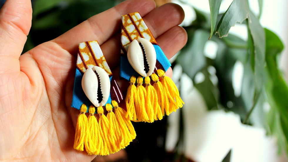 Boucles puce COCO Cauri