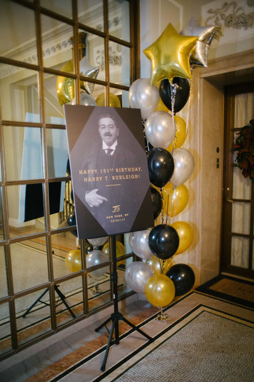 Harry T. Burleigh's 151st Birthday Party
