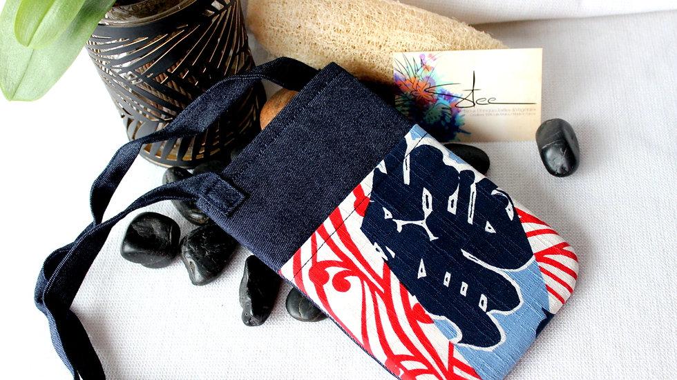 Pochette Smartphone en jean