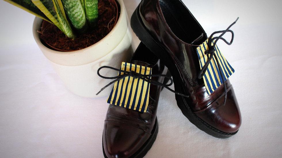 L2 - LANGUETTE chaussures en Wax