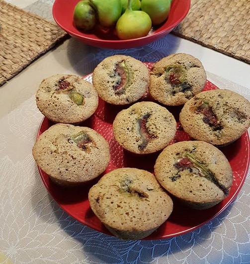 Muffins aux figues du jardin