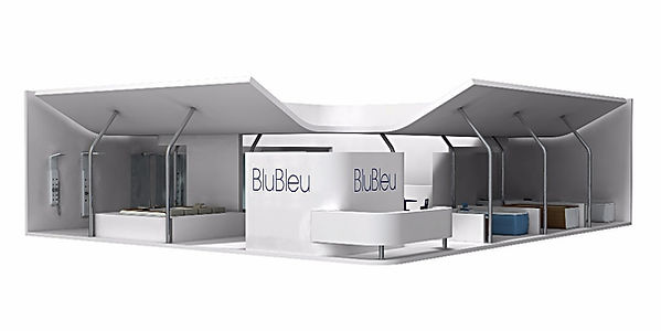 Bullo Design - STAND CERSAIE - Blu Bleu - 2008