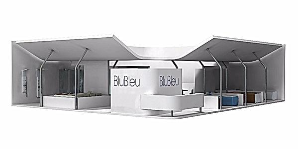 Bullo Design - EXHIBITION STAND CERSAIE - Blu Bleu - 2008