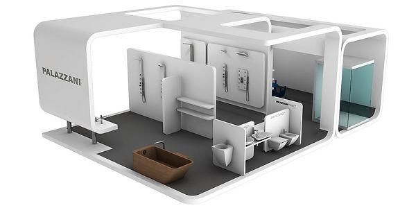 Bullo Design - EXHIBITION STAND CERSAIE - Palazzani Project - 2011