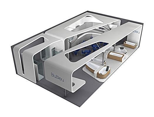 Bullo Design - STAND CERSAIE - Blu Bleu - 2007
