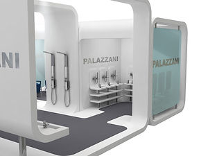 Bullo Design - EXHIBITION STAND CERSAIE - Palazzani Project - 2007