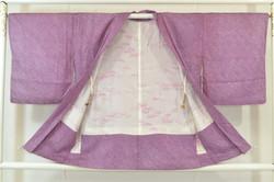 Purple silkejakke. Kr. 749,-