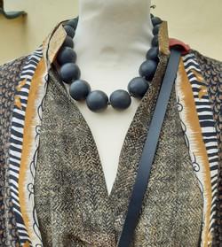 Halskæde fra Kazuri kr. 519,-
