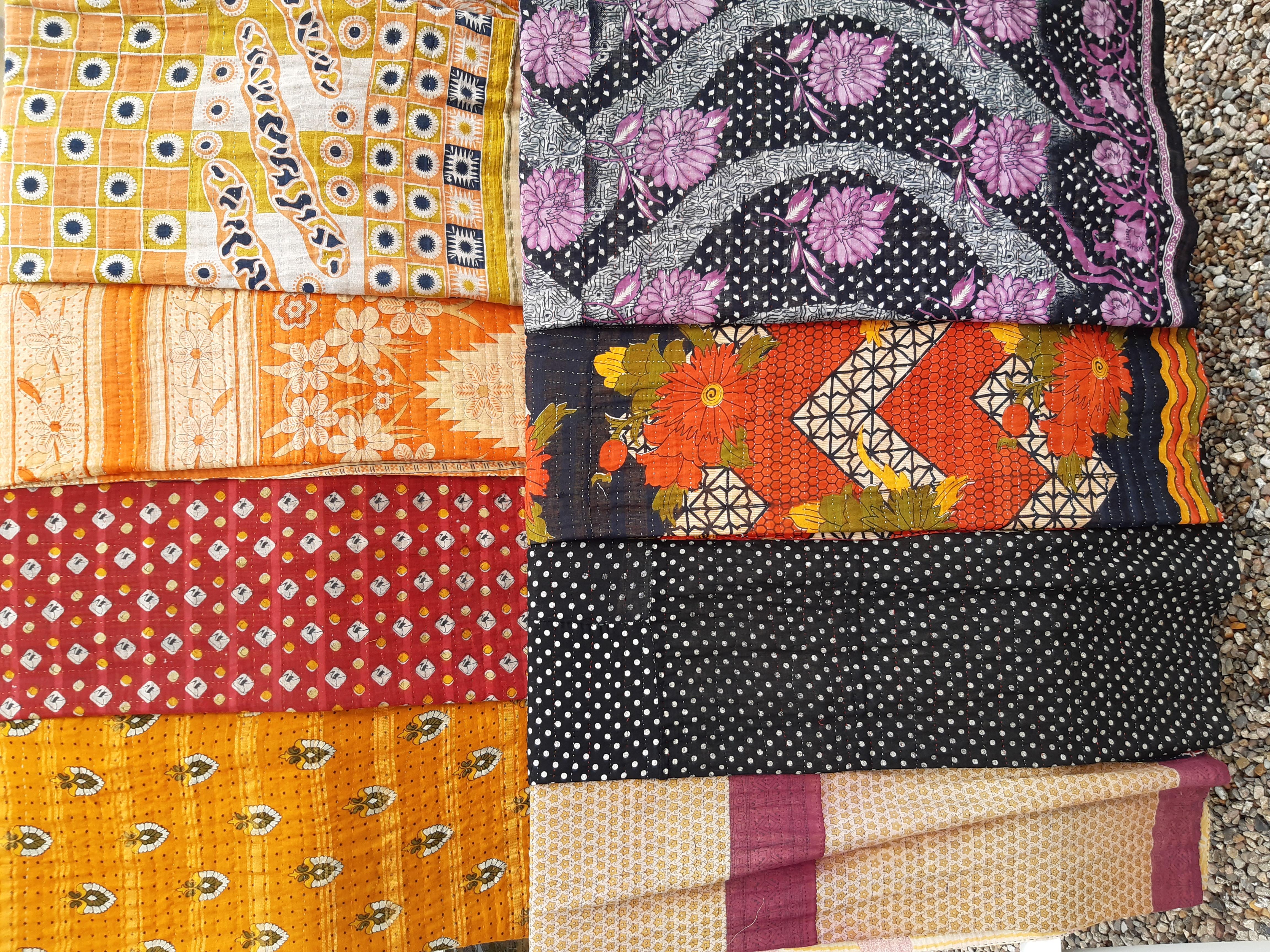 Saritæpper fra Bangladesh