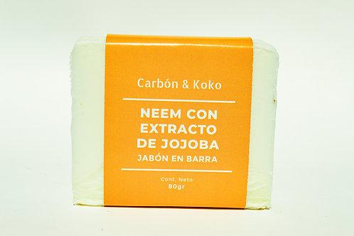 JABÓN DE NEEM CON EXTRACTO DE JOJOBA