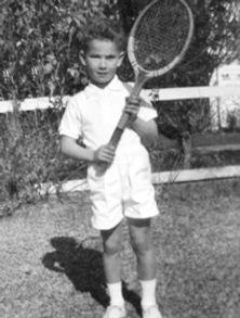 Noel Callaghan as a 6 year old