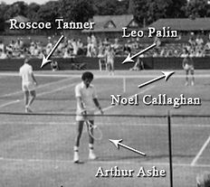 Noel Callaghan playing Ashe and Tanner in Beckenham