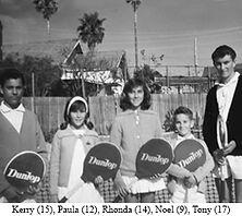 Noel Callaghan and siblings