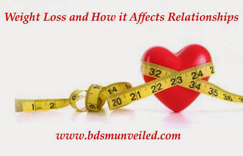 bdsm weight loss affecting dynamic