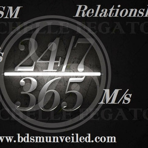 Q&A Topics - Maintaining a 24/7 relationship, D/s Relationship structures, and A Narcissistic Dom