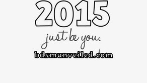 BDSM UNVEILED NEW YEAR'S RESOLUTION: Just BE You!