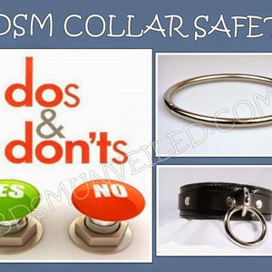 BDSM Collar Do's Don'ts and Safety