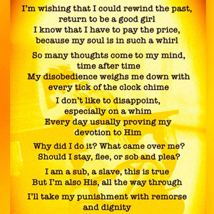 Forgiveness: a Poem by Michelle Fegatofi