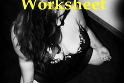 BDSM Limits Worksheet - FREE