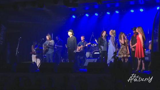 Craig Lloyd at the CMAA Country Music Academy, Tamworth
