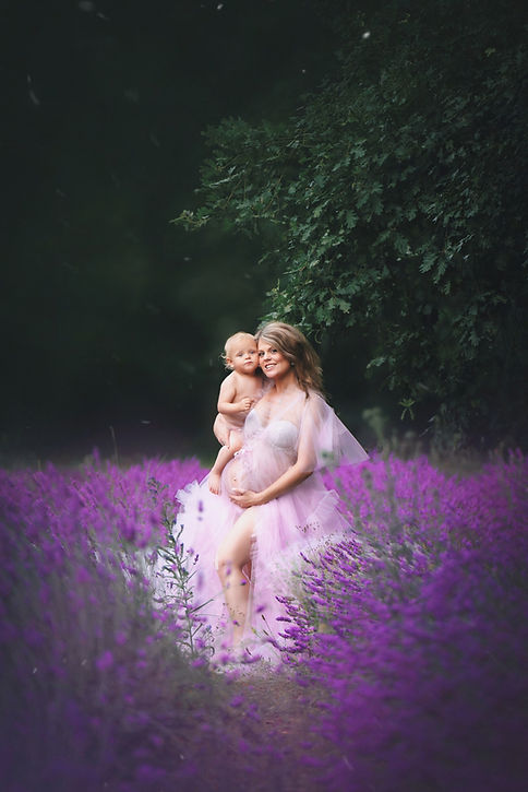 photographe grossesse lavandes LOT