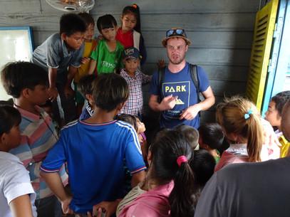 Josh Grimaldi - School show Cambodia