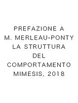 Prefazione a M. Merleau-Ponty, La Strutt