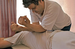 Séance de thérapie corporelle