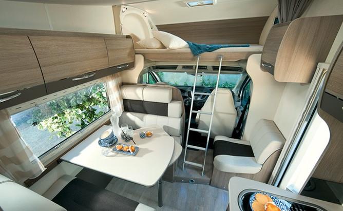Autorulota Chausson C714GA interior 2 .j