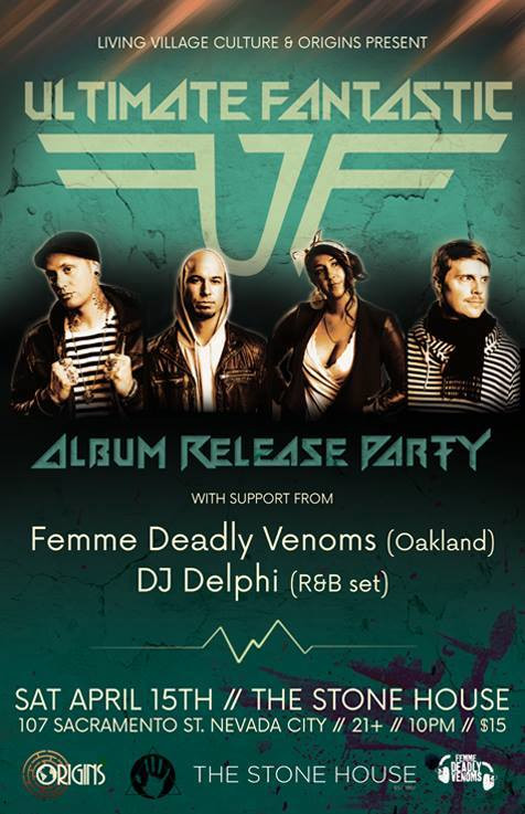 Ultimate Fantastic Album Release Party!